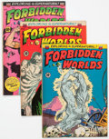 Golden Age (1938-1955):Horror, Forbidden Worlds #9, 10, and 12 Group (ACG, 1952-53) Condition:Average FN.... (Total: 3 Comic Books)