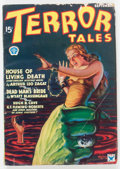 Pulps:Horror, Terror Tales - September 1934 (Popular) Condition: VG....
