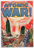 Golden Age (1938-1955):Science Fiction, Atomic War! #1 (Ace, 1952) Condition: VG/FN....
