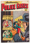 Golden Age (1938-1955):Crime, Authentic Police Cases #1 (St. John, 1948) Condition: VG/FN....