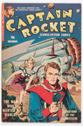 Golden Age (1938-1955):Science Fiction, Captain Rocket #1 (P.L. Publishing Co., 1951) Condition: VG/FN....