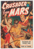Golden Age (1938-1955):Science Fiction, Crusader from Mars #2 (Ziff-Davis, 1952) Condition: FN....