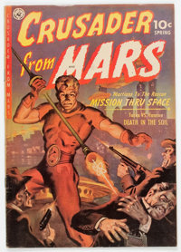 Crusader from Mars #1 (Ziff-Davis, 1952) Condition: Average VG+
