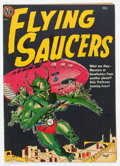 Golden Age (1938-1955):Science Fiction, Flying Saucers #1 (Avon, 1950) Condition: FN+....