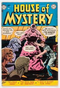 House of Mystery #6 (DC, 1952) Condition: FN-