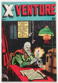 Golden Age (1938-1955):Horror, X-Venture #1 (Victory Magazines, 1947) Condition: VG/FN....