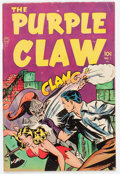 Golden Age (1938-1955):Horror, Purple Claw #1 (Minoan Publishing Co., 1953) Condition: FN....