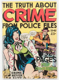 Golden Age (1938-1955):Crime, Fox Giants - The Truth About Crime... (Fox Features Syndicate, 1949) Condition: VG-....
