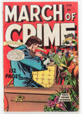 Golden Age (1938-1955):Crime, Fox Giants - March of Crime #nn 1949 Coffin Cover (Fox Features Syndicate, 1949) Condition: VG....