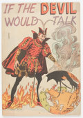 Golden Age (1938-1955):Religious, If the Devil Would Talk #nn (Impact, 1950) Condition: VG....