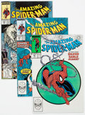 Modern Age (1980-Present):Superhero, The Amazing Spider-Man #301-325 and 328 Group of 26 (Marvel,1988-90). Condition: Average NM-... (Total: 26 Comic Books)