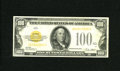 Small Size:Gold Certificates, Fr. 2405 $100 1928 Gold Certificate. Very Fine. Healthy edges are found on this $100 Gold that sports healthy edges. After m...