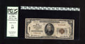 National Bank Notes:Kansas, Atchison, KS - $20 1929 Ty. 1 The City NB Ch. # 11405. This $20 is listed in the Kelly census with the highest serial nu...