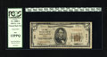 National Bank Notes:Maine, Portland, ME - $5 1929 Ty. 1 The Canal NB Ch. # 941. Cashier P.J.Milliken succeeded C.T. Peters, while W.W. Thomas cont...