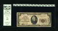 National Bank Notes:Virginia, Charlottesville, VA - $20 1929 Ty. 1 The Peoples NB Ch. # 2594. Theofficers are H.A. Dinwiddie and Geo. R.B. Michie. In...