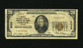 National Bank Notes:Virginia, Norfolk, VA - $20 1929 Ty. 1 Norfolk NB of Commerce & TrustsCh. # 6032. The extreme lower left-hand corner tip is missi...