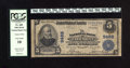 National Bank Notes:West Virginia, Fairmont, WV - $5 1902 Plain Back Fr. 600 The NB Ch. # 9462. Thisnote has the engraved signatures of the officers, plus...
