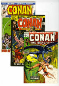 Bronze Age (1970-1979):Miscellaneous, Conan the Barbarian Group (Marvel, 1971-77) Condition: Average FN.Includes Conan the Barbarian #9, 12, 13, 14 (Elric ap... (Total: 18Comic Books)