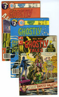Silver Age (1956-1969):Horror, Ghostly Tales Group (Charlton, 1972-80) Condition: Average VF. Thisgroup contains issues #98, 129, 130, 131, 136, 140, and ... (Total:7)
