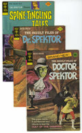 Bronze Age (1970-1979):Miscellaneous, Gold Key Dr. Spektor and Spine-Tingling Tales Group (GoldKey/Whitman, 1973-82) Condition: Average VF/NM. Includes The Occ...(Total: 6)