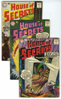 Silver Age (1956-1969):Mystery, House of Secrets Group (DC, 1959-61) Condition: Average VG. Thisgroup contains issues #19, 21, 24 (two copies), 25, 29 (two...(Total: 16)