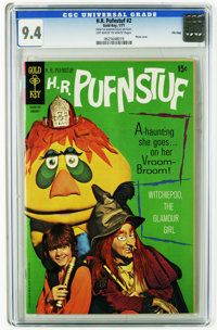 H.R. Pufnstuf #2 File Copy (Gold Key, 1971) CGC NM 9.4 Off-white to white pages. Photo cover. Tied with three other copi...