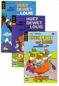 Huey, Dewey, and Louie Junior Woodchucks Box Lot (Gold Key/Whitman, 1970-84) Condition: Average VF/NM. This short box of...
