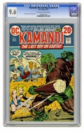Bronze Age (1970-1979):Science Fiction, Kamandi, the Last Boy on Earth #5 (DC, 1973) CGC NM+ 9.6 Off-whiteto white pages. Jack Kirby story, cover, and art. Overstr...