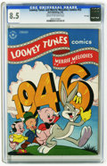 Golden Age (1938-1955):Cartoon Character, Looney Tunes and Merrie Melodies Comics #52 File Copy (Dell, 1946)CGC VF+ 8.5 Cream to off-white pages. Overstreet 2005 VF ...