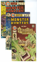 Bronze Age (1970-1979):Horror, Monster Hunters Group (Charlton, 1976-78) Condition: Average VF.This group contains issues #6, 8, 11, 12, 13, 14, 15, and 1...(Total: 8)