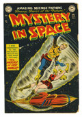 Golden Age (1938-1955):Science Fiction, Mystery in Space #5 (DC, 1952) Condition: GD. Carmine Infantino andGil Kane art. Overstreet 2005 GD 2.0 value = $59....