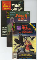 Bronze Age (1970-1979):Horror, Ripley's Believe It Or Not File Copies Box Lot (Gold Key, 1976-79)Condition: Average VF/NM. This full short box contains ap...