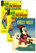 Bronze Age (1970-1979):Cartoon Character, Roman Holidays and Chilly Willy Group (Dell and Gold Key,1959-1973). In addition to six copies of The Roman Holidays #1...(Total: 7 Comic Books)