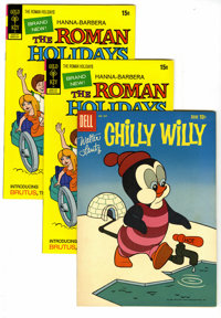 Roman Holidays and Chilly Willy Group (Dell and Gold Key, 1959-1973). In addition to six copies of The Roman Holidays #1...