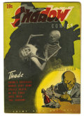 Golden Age (1938-1955):Horror, Shadow Comics V3#11 (Street & Smith, 1944) Condition: FN+.Cover art by Vernon Greene. Overstreet 2005 FN 6.0 value = $174;...