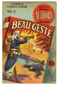 Golden Age (1938-1955):Classics Illustrated, Stories by Famous Authors Illustrated #5 (Seaboard Pub., 1950)Condition: VF. Featuring Beau Geste by P. C. Wren. Cover by H...