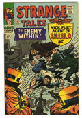 Silver Age (1956-1969):Superhero, Strange Tales #147 (Marvel, 1966) Condition: VF+. Jack Kirby cover. Kirby layouts and Don Heck finished art on the Nick Fury...