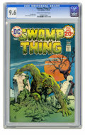 Bronze Age (1970-1979):Horror, Swamp Thing #13 (DC, 1974) CGC NM+ 9.6 Cream to off-white pages.Nestor Redondo cover and art. Overstreet 2005 NM- 9.2 value...