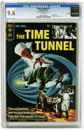 Silver Age (1956-1969):Science Fiction, The Time Tunnel #1 File Copy (Gold Key, 1967) CGC NM 9.4 White pages. Painted cover. Photo pin-up back cover. Overstreet 200...