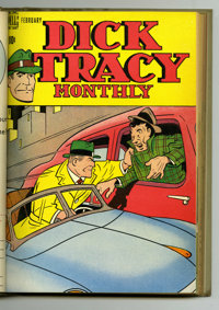 Dick Tracy Monthly #13-24 Bound Volume (Dell, 1949). Several key supporting characters make their first appearances in t...
