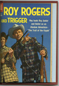Silver Age (1956-1969):Western, Roy Rogers & Trigger #121-132 Bound Volume (Dell, 1958-59).These are Western Publishing file copies of Roy Rogers and Tri...