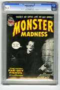 Bronze Age (1970-1979):Horror, Monster Madness #1 (Marvel, 1972) CGC NM- 9.2. Photo cover.Includes photos from classic monster movies. Overstreet 2005 NM-...