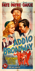 "Movie Posters:Comedy, The Great American Broadcast (20th Century Fox, 1946). FirstPost-War Release Italian 4 -Fogli (39"" X 82"").. ..."