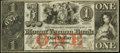 Obsoletes By State:Rhode Island, Providence, RI- Mount Vernon Bank $1 Nov. 22, 1858...