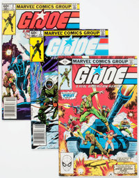 G. I. Joe, A Real American Hero Long Boxes Group (Marvel, 1980s) Condition: VF.... (Total: 2 Box Lots)