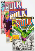 Modern Age (1980-Present):Superhero, The Incredible Hulk #239-244 Box Lot (Marvel, 1979-80) Condition:Average VF/NM....