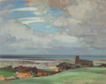 Fine Art - Painting, European:Antique  (Pre 1900), John Alfred Arnesby Brown (British, 1866-1955). Above theSea. Oil on canvas. 16 x 20 inches (40.6 x 50.8 cm). Signedlo...