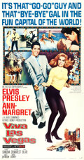 "Movie Posters:Elvis Presley, Viva Las Vegas (MGM, 1964). Three Sheet (41.5"" X 79"").. ..."