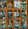 Non-Sport Cards:Sets, 1977 Topps Star Wars Series 5 (Orange Borders) Complete Set (66)Plus 129 Extras. ...