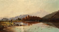 Fine Art - Painting, European:Antique  (Pre 1900), Edwin Henry Boddington (British, 1823-1923). Ballachulish,Scotland, 1879. Oil on canvas. 10-1/4 x 18-1/4 inches (26.0x...